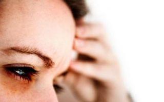 Что делать, если болит голова в области лба и висков?