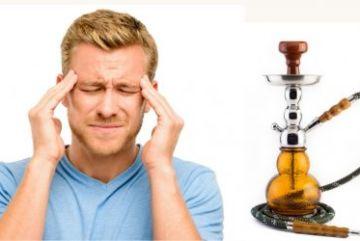 Почему от кальяна болит голова и как избавиться от этого?