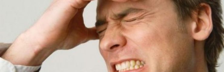 Причины и лечение головной боли в области лба