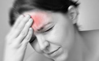 Головные боли в лобной части: причины и лечение