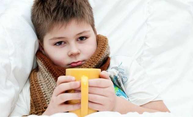 Обильное питье во время гриппа