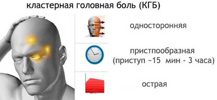 Периодичность кластерных головных болей