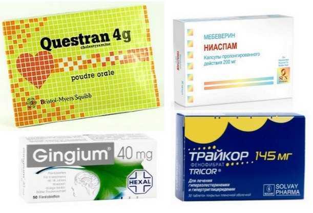 Лекарственные препараты для чистки сосудов