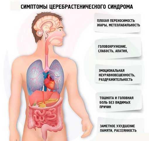 Симптомы церебрастенического синдрома