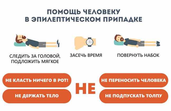Помощь человеку при эпилептическом припадке