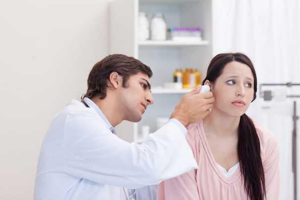Диагностика слухового прохода