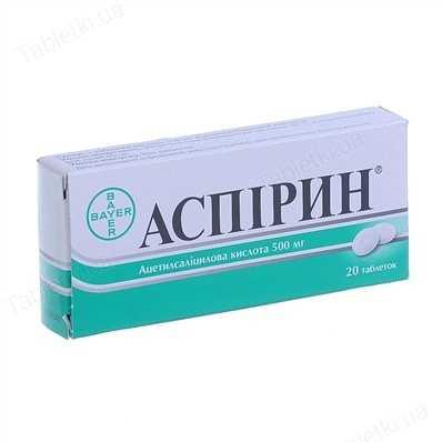 От чего помогает аспирин